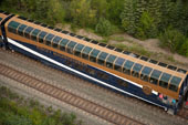 Rocky Mountaineer Gold Leaf Dome Coach